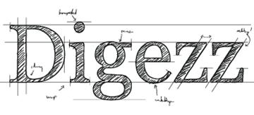 Eine Logovariante von digezz