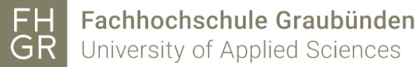 Logo der Fachhochschule Graubünden University of Applied Science