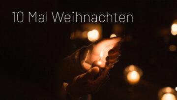 Kerze in Hand von Person