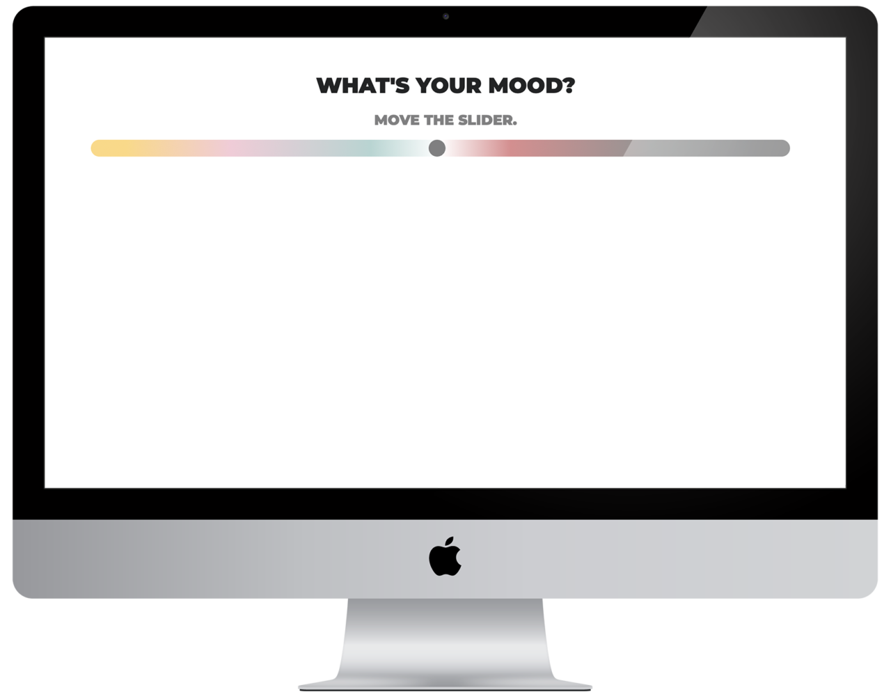 What's your mood? – Mockup