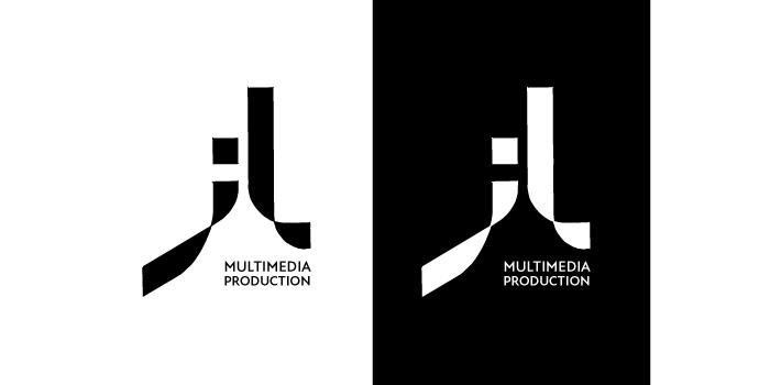 Logo schwarz auf weiss und weiss auf schwarz von Jana Leu.