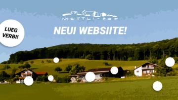 Neue Webseite Mettlihof