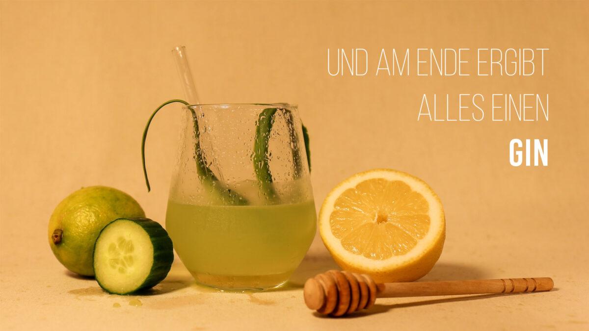 Gin Cucumber-Ginger