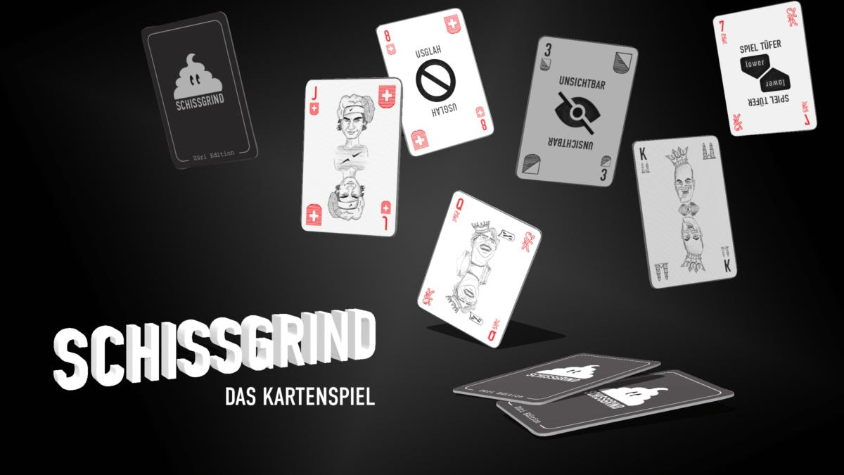 Bannerbild Schissgrind Kartenspiel