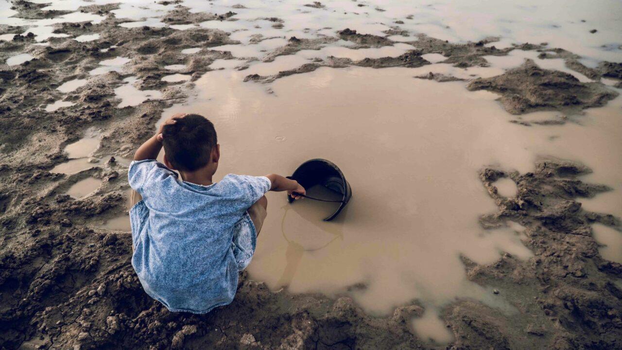 Verschmutztes Trinkwasser