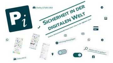 Internet der Dinge, verschiedene Icons aus der digitalen Welt
